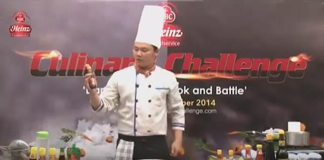 Heinz ABC Culinary Challenge Surabaya Bustamir Rochmanta