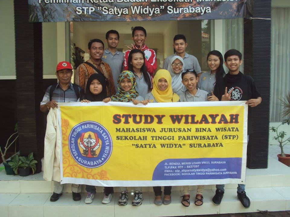 Study Wilayah Mahasiswa Jurusan Bina Wisata ke Magetan 2015