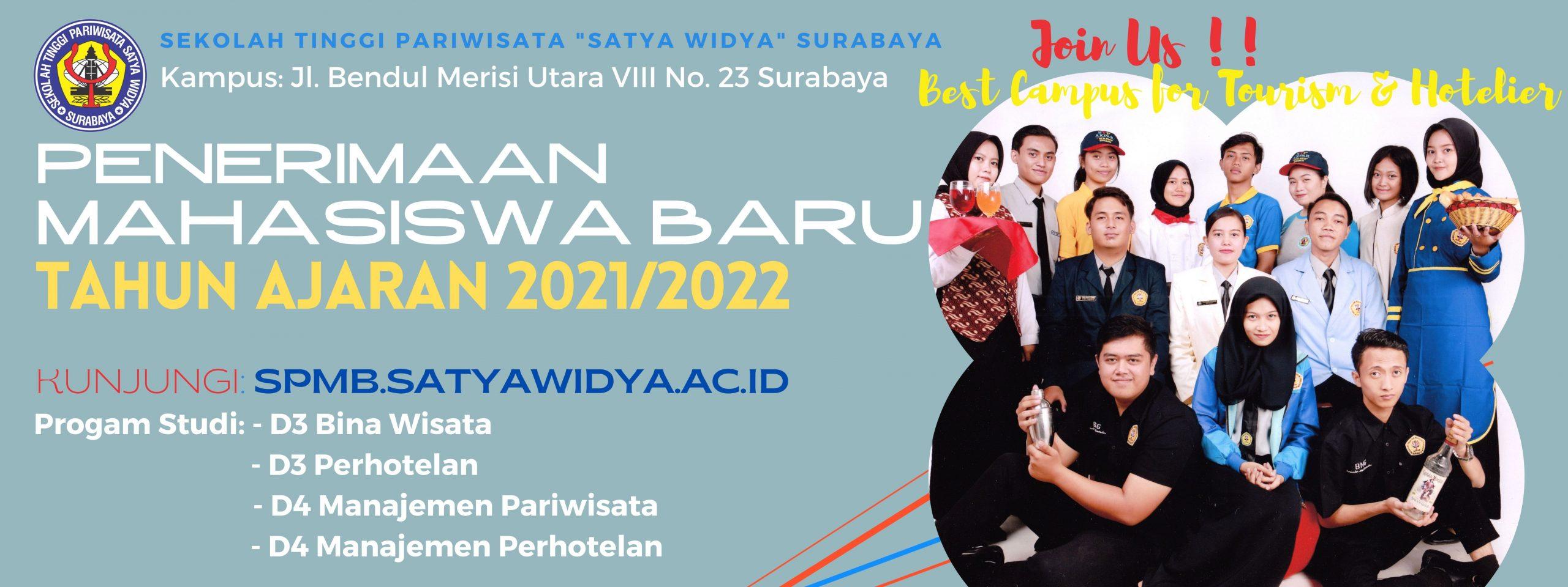 Program Pendaftaran Mahasiswa Baru 2021/2022